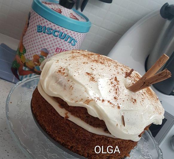 TARTA DE ZANAHORIA (CARROT CAKE) CON Thermomix®