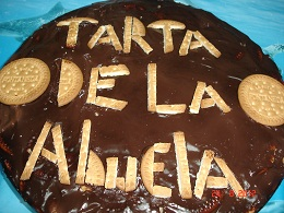 TARTA DE LA ABUELA Thermomix® (galletas y chocolate)