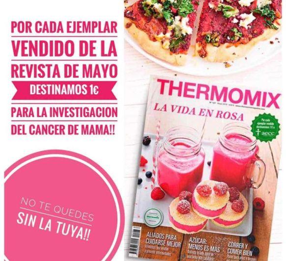 Mayo, mes rosa, mes solidario
