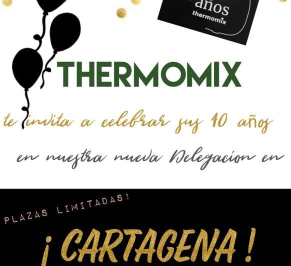Aniversario!! 40 años de Thermomix® en España, y mi primero como Agente Comercial!!