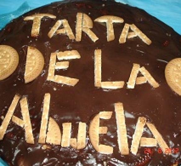 TARTA DE LA ABUELA Thermomix® (galletas y chocolate)